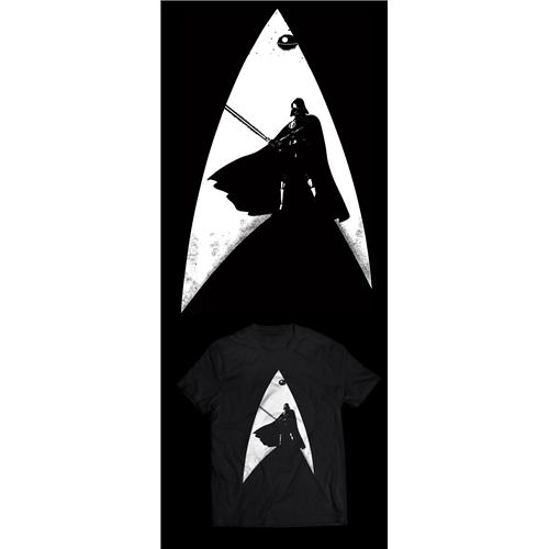 Exemplo de Camisa (unidade) do designer marlaobrando para Star Wars Into Star Trek