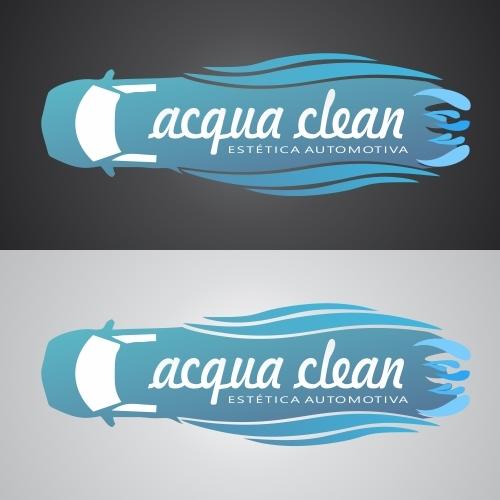 Exemplo de Logo do designer tiago's para Acqua Clean6
