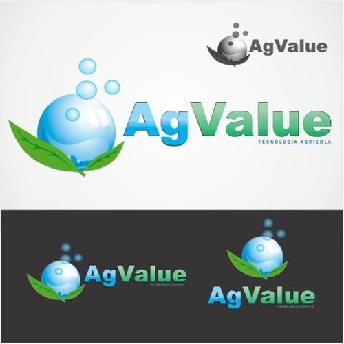 Exemplo de Logo do designer rocket.designer para AG.VALUE