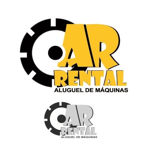 Exemplo de Logo do designer rocket.designer para AR.RENTAL