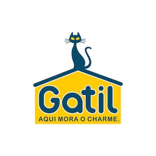 Exemplo de Logo do designer Brandman para Gatil