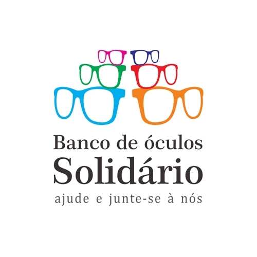Exemplo de Logo do designer Fernando Rondineli.designer para Bando de Óculos Solidário