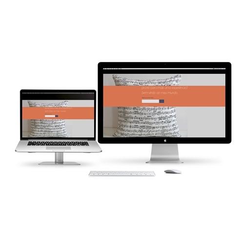Exemplo de Layout Web-Design do designer Jonatas ST para bem vindo ao meu mundo...