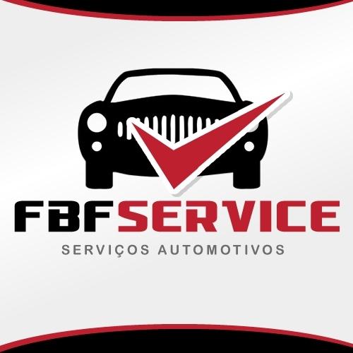 Exemplo de Logo do designer KellseyMacedo para FBF Service