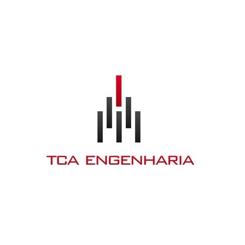 Exemplo de Logo do designer e3design para Logotipo TCA ENGENHARIA