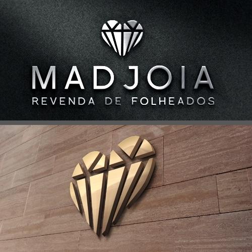 Exemplo de Logo do designer Cazon Comunicação para MadJoia
