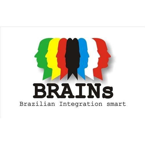 Exemplo de Logo do designer leonisio para Brazilian Integration smart
