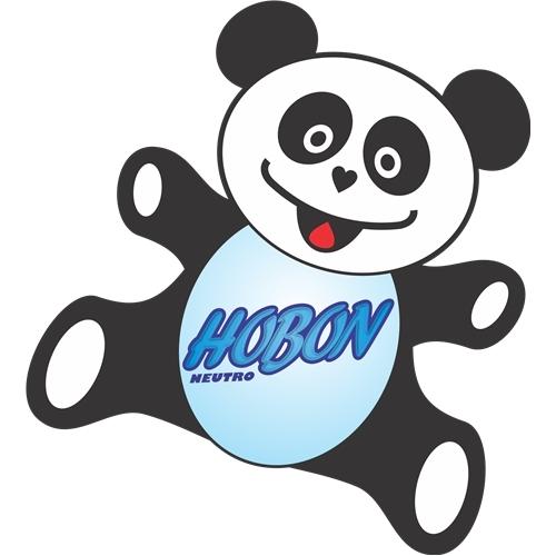 Exemplo de Mascote do designer leonisio para Hobon Neutro