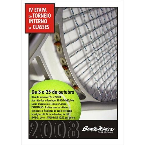 Exemplo de Folheto ou Cartaz (sem dobra) do designer marinadgrj para Cartaz para Torneio Esportivo em Clube