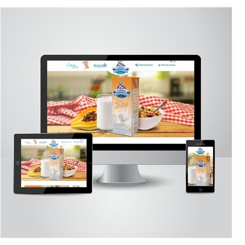 Exemplo de Layout Web-Design do designer janessa.oliveira para Layout Web Design