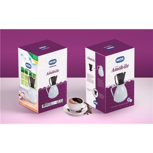 Exemplo de Embalagem (unidade) do designer dgdasilveira para Embalagem Kit Bule + Coador de café