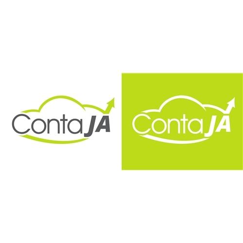 Exemplo de Logo do designer Jairo Fontes para ContaJa