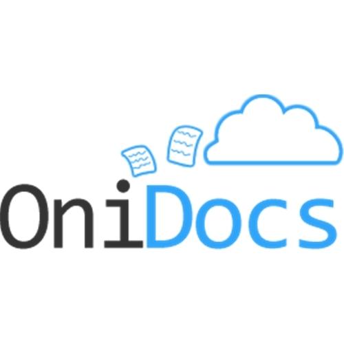 Exemplo de Logo do designer Jairo Fontes para Onidocs