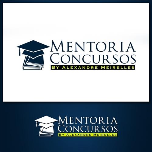Exemplo de Logo e Cartao de Visita do designer joseesoares para Mentoria Concursos