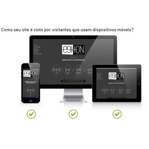 Exemplo de Layout Landing Page do designer EGHON para Landing Page EGHON