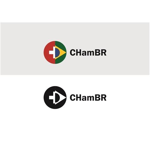 Exemplo de Logo do designer a&b stúdio para CHamBR