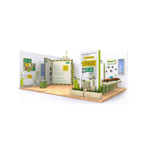 Exemplo de Stande e Quiosque do designer vittoriotorchetti para Stande e quiosque UNIMED BH