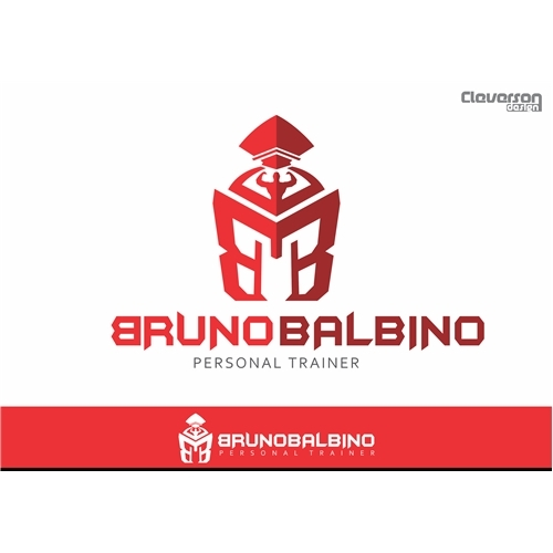 Exemplo de Logo do designer @merctimizer para BRUNO BALBINO PERSONAL TRAINING
