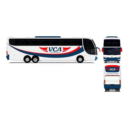 Exemplo de Adesivaçao de Veículos do designer ander.ranquel para VCA Transportes