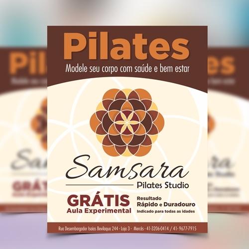 Exemplo de Folheto ou Cartaz (sem dobra) do designer JasperX para Samsara
