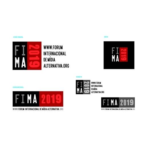 Exemplo de Logo + Manual Básico do designer jobrasileiro para LOGO FIMA