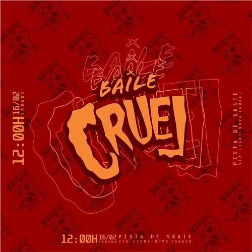 Exemplo de Logo do designer eduardocellos para Identidade Visual Baile Cruel