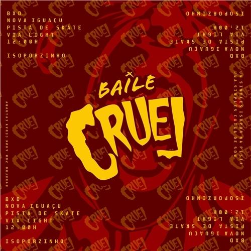 Exemplo de Logo do designer eduardocellos para Identidade Visual Baile Cruel 2