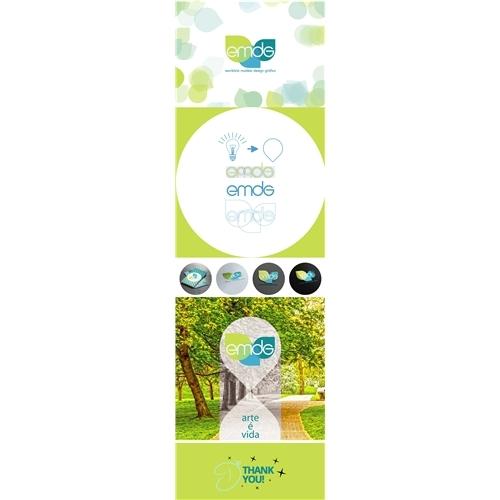 Exemplo de Logo + Manual Básico do designer DJMingos para EMDG -concurso