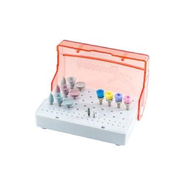 Kit para acabamento e polimento completo ultra-gloss