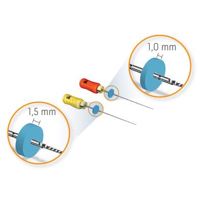 Stop de silicone 1,5mm