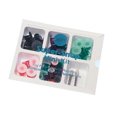 Disco de lixa kit super snap mini estojo