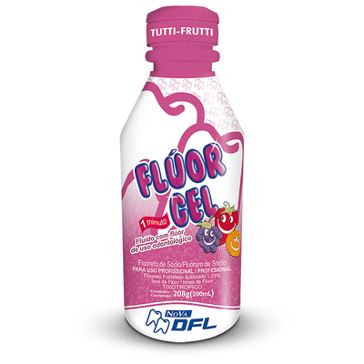 Fluor gel tutti frutti  200ml - DFL
