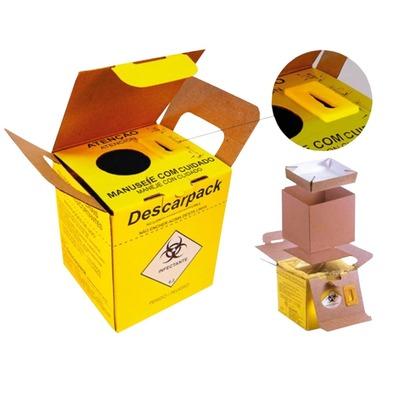 Caixa coletora de material perfurocortante Descarpack