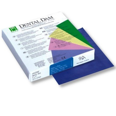 Lencol de Borracha Dental Dam Hygenic