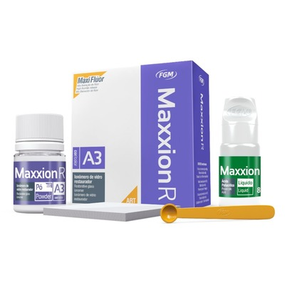 Kit de Ionomero de Vidro Restaurador Maxxion R FGM