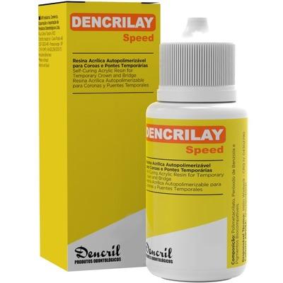 Resina acrílica Dencrilay pó Dencril
