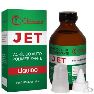 Resina acrílica autopolimerizável líquida JET clássico