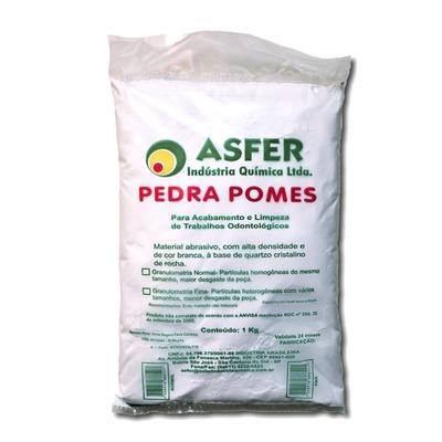Pedra pomes 1kg Asfer