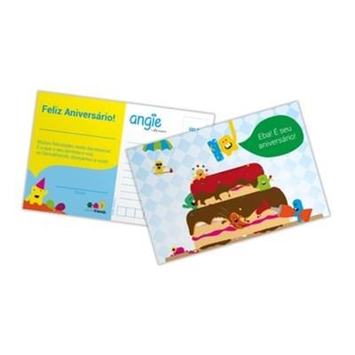 Cartão de aniversário agie