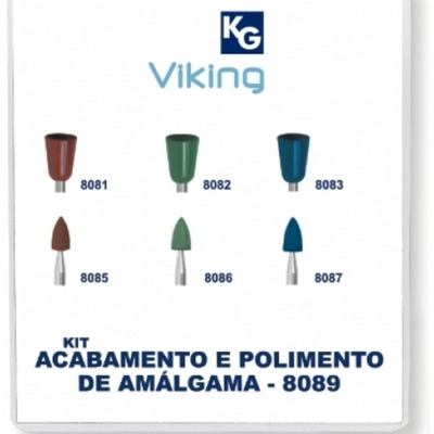 Kit polim. Amalgama viking 8089