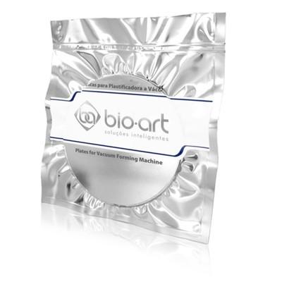 Placa soft redonda com 10 unidades Bio Art
