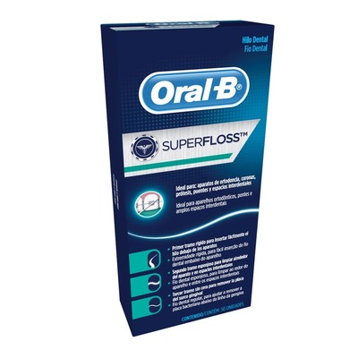 Fio dental super floss
