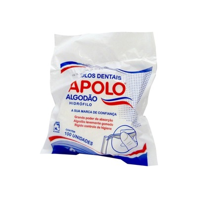 Algodão rolete Apolo