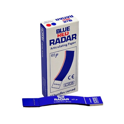 Papel carbono 65 micras blue red radar