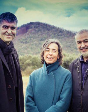 Arquitetos catalãos vencedores do Pritzker 2017, Rafael Aranda, Carme Pigem e Ramon Vialta.