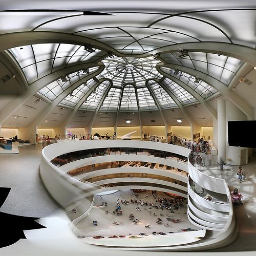 Frank-Lloyd-Wright-Museu-Guggenheim-por-dentro