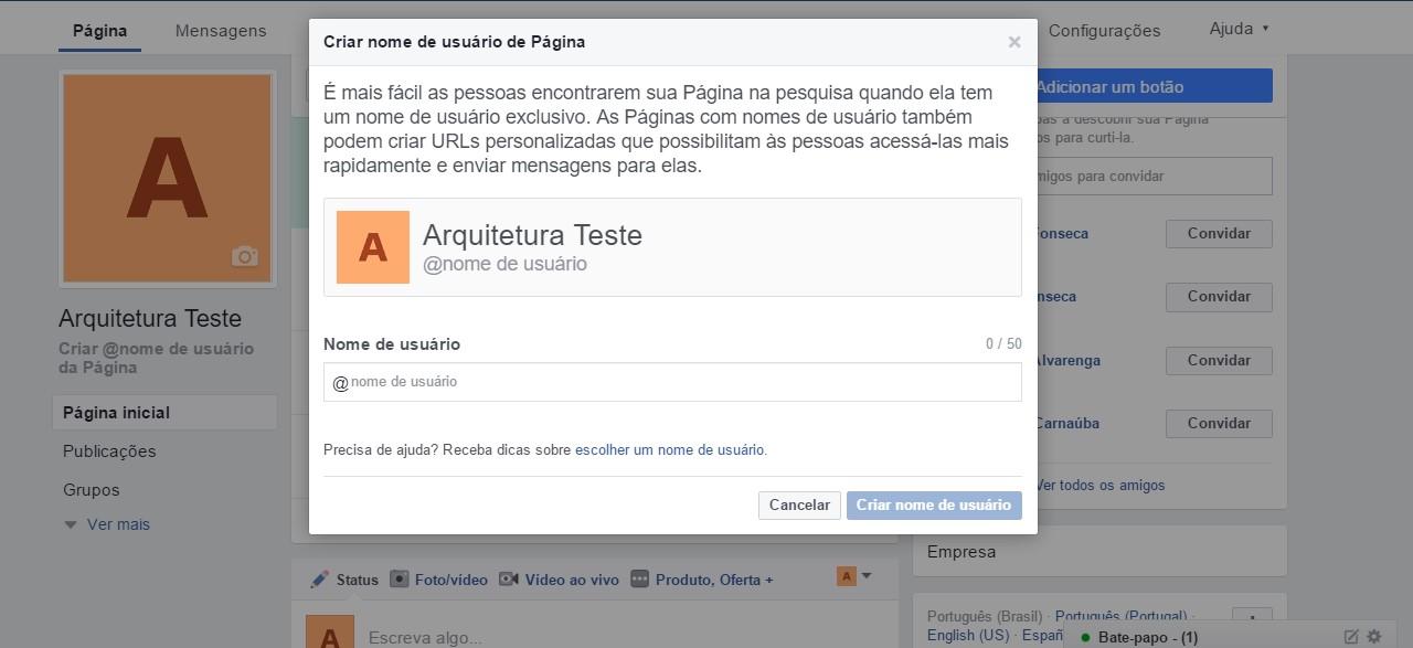 como-criar-uma-pagina-no-facebook-url-customizada