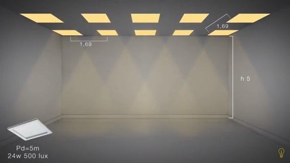 calculo-luminotecnico-pe-direito-duplo-painel-de-led-30x30cm-24w