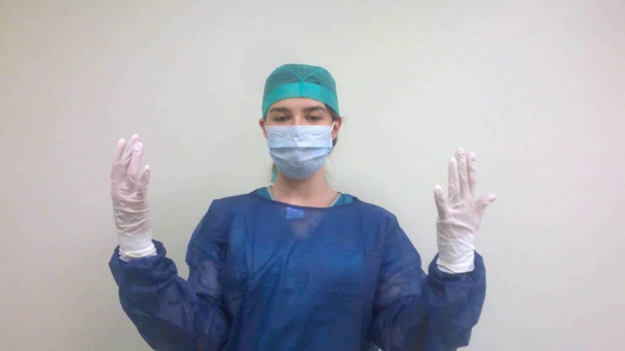 preparación del equipo quirúrgico. Cover