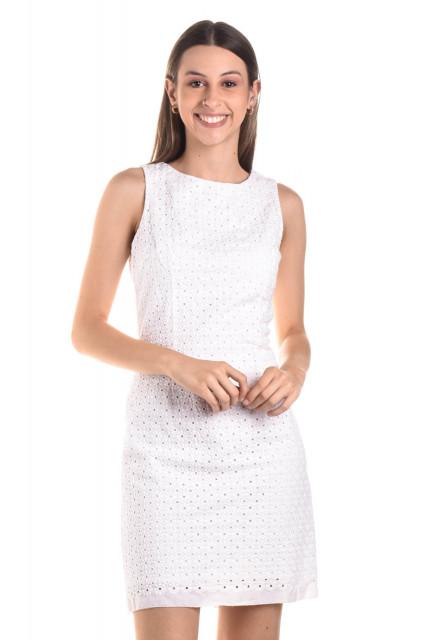 Vestido Laise Branco 136467 Gant Brechó Online Troc